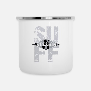 Suff Suff Session - drinking party celebrations - Enamel Mug