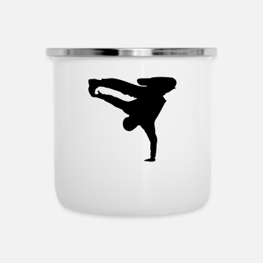 Breakdance Breakdance - Emaille-Tasse