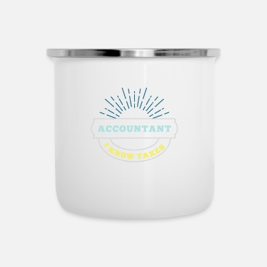 Office Life Office Life Accountant Office Humor Funny Gift - Enamel Mug