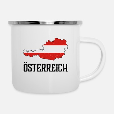 National Austria national national colors home gift - Enamel Mug