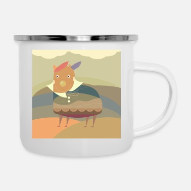 Dress Up Dressed Up For Adventure - Enamel Mug