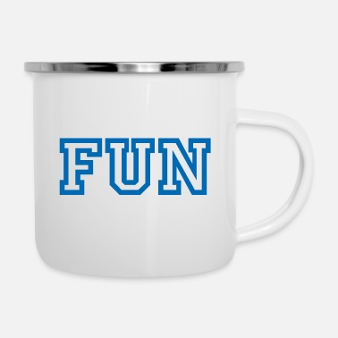 Fun FUN - Emaille-Tasse