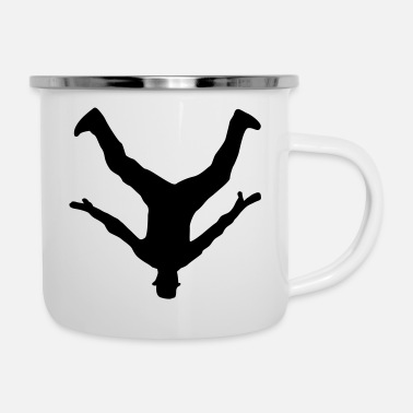 Breakdance Breakdancer, Breakdance - Emaille-Tasse