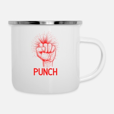 Punch DE PUNCH - Emaille mok