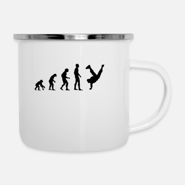 Breakdance Breakdancer - Emaille-Tasse
