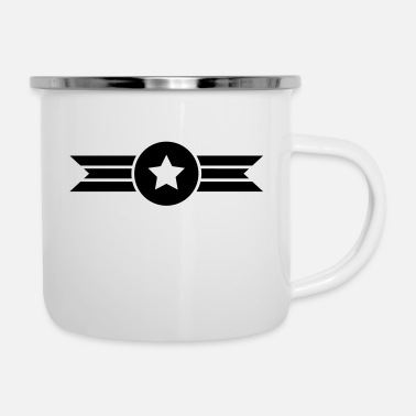 flying star - Enamel Mug