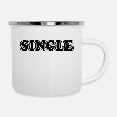 Single single - Mug émaillé