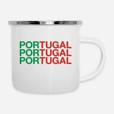Portugal PORTUGAL - Emaille mok
