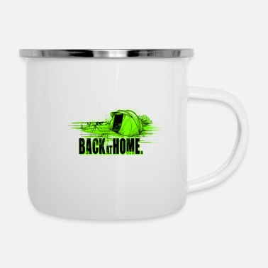 Back at home - Enamel Mug