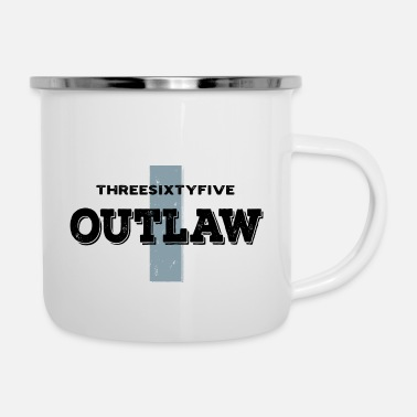 Auto Threesixtyfive Outlaw - Emaille-Tasse