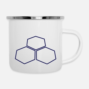 Catan Hexagons - Enamel Mug