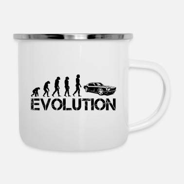 Evolution EVOLUTION - Emaille mok