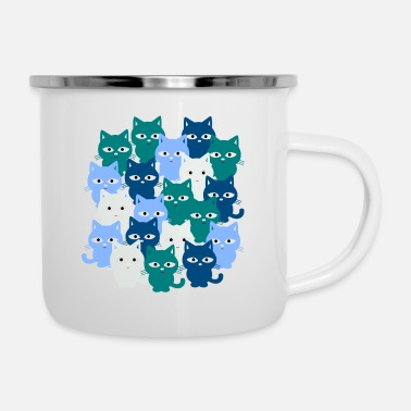 Cat Cats, cats, cats - Enamel Mug
