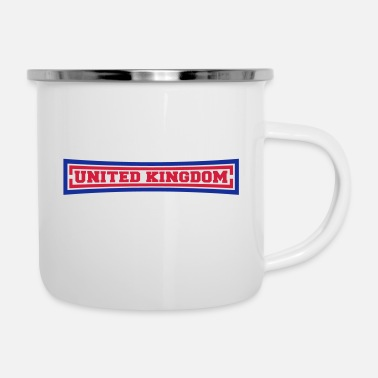 United United Kingdom - Emaille mok