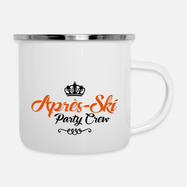 Party apres ski party crew - Emaille-Tasse