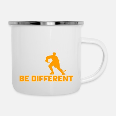 Be Different Hockey - Be different - Emaille mok