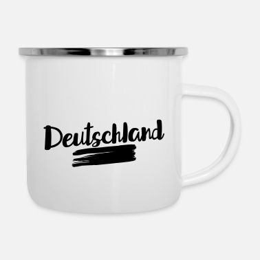 Flag Of Germany Germany flag – flag of Germany - Enamel Mug