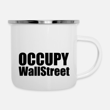 Occupy Occupy - Emaille mok