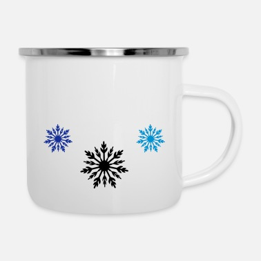 Frost sterne frost - Emaille-Tasse