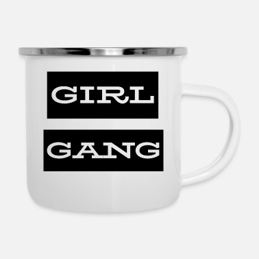 Gang Girl Gang - Emaille mok