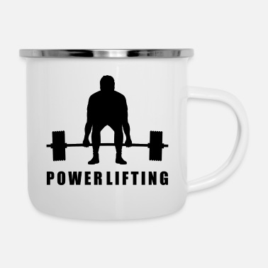 Power Power Lifting - Enamel Mug