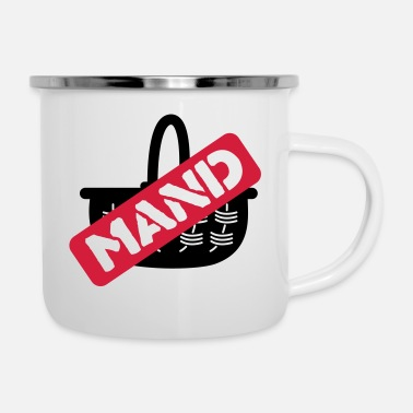Mand mand - Emaille mok