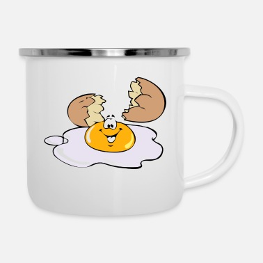 Egg Fried Egg Egg - Enamel Mug