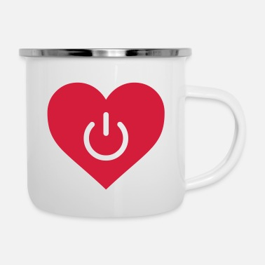 Power power of love v1 - Enamel Mug