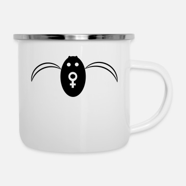 Batgirl Bat Girl - Emaille-Tasse