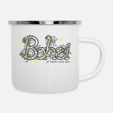 Bohei - Emaille-Tasse