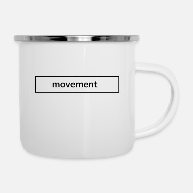 Movement Movement - Emaille-Tasse