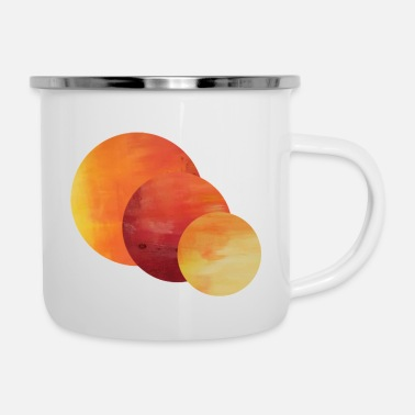 Eleven Design by RK - Emaille-Tasse