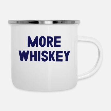 Whiskey MEER WHISKEY - Emaille mok