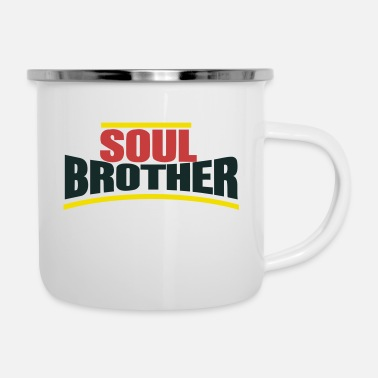 Soul Soul Brother - Mug émaillé