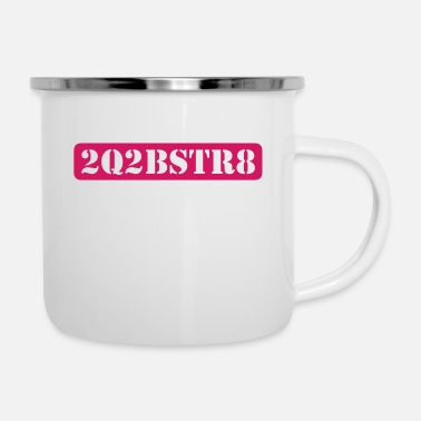 Word Comedy Party too cute to be straight (1c) - Enamel Mug