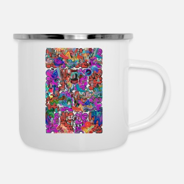 many things 2021 11 - Enamel Mug