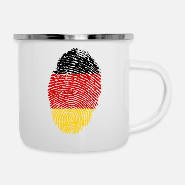 Imprint Imprint Germany Imprint with the flag Germany - Enamel Mug