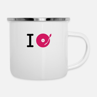 House I dj / play / listen to + your music - Emaille-Tasse