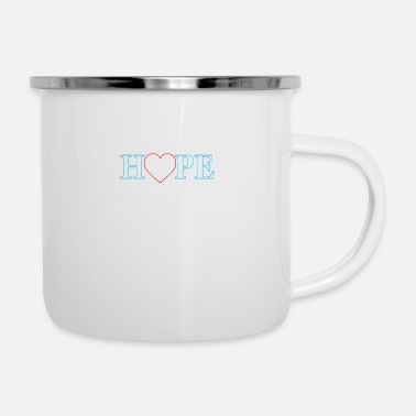 Hop Hope - Emaille-Tasse