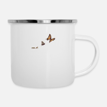 GIVE YOURSELF TIME - Emaille-Tasse