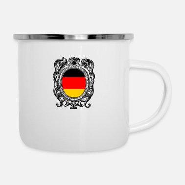 Flag Of Germany Germany flag Germany flag - Enamel Mug