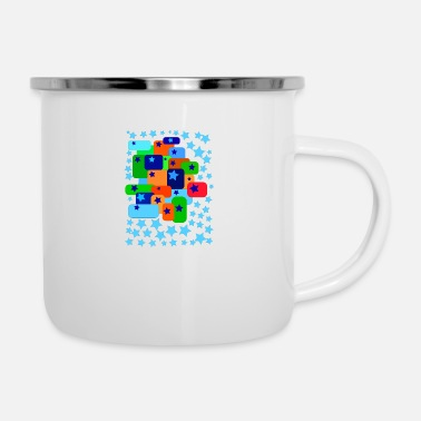 Graphic Art graphic art star - Emaille-Tasse