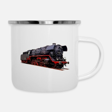 Tasse mit Motiv 18 201 mit Personenzug