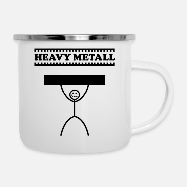 Heavy Metal Heavy metal / heavy metal / heavy metal - Emaille mok