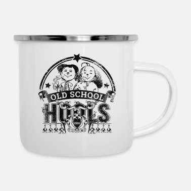 Rockabilly Old School Hools - Emaille-Tasse