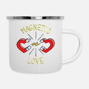 MAGNETIC LOVE © - Enamel Mug
