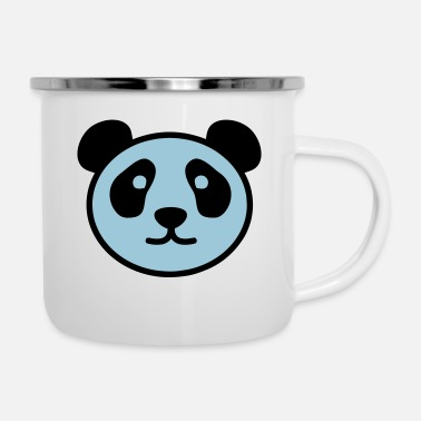 Stylish PANDA STYLISH - Emaille mok