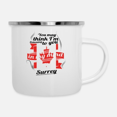 Surrey HOLIDAY HOME ROOTS TRAVEL Canada Canada Surrey - Enamel Mug