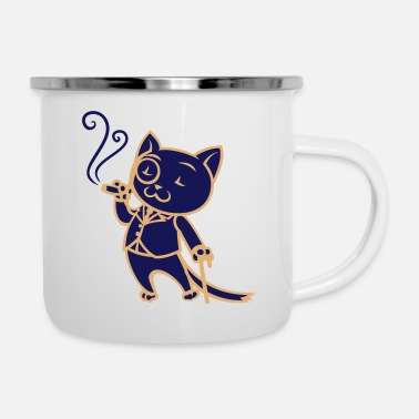 Sir Sir Cat - Mug émaillé