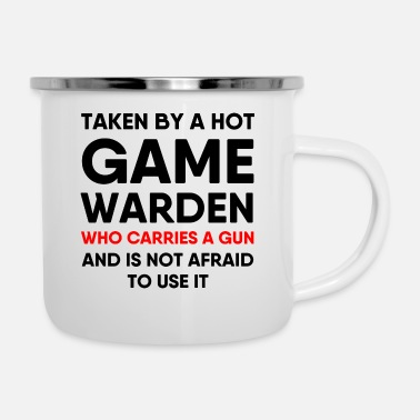 Game Warden Game Warden Girlfriend Boyfriend Wife Husband - Enamel Mug